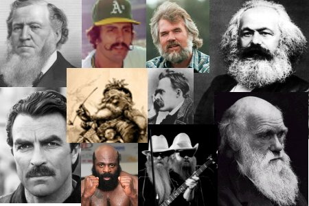 beards 20 Manliest Mustaches and Beards From Facial Hair History
