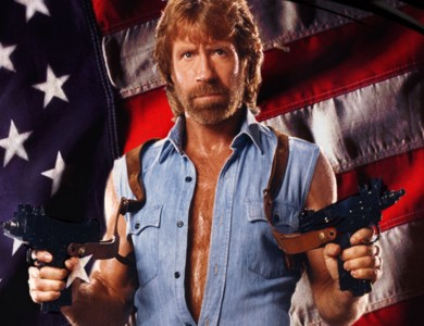 chuck_norris 20 Manliest Mustaches and Beards From Facial Hair History