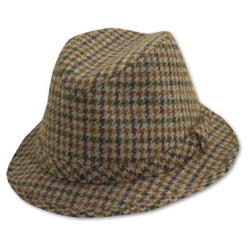 tapered flannel hat