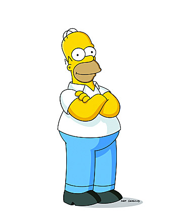 home simpson best tv dad