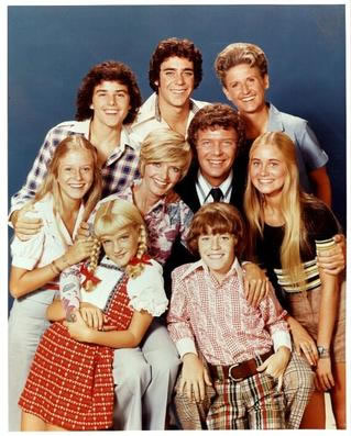 the brady bunch cast photo