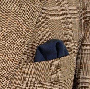 pocket square puff fold