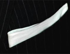 pocket square straight fold