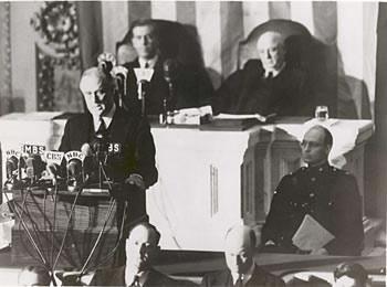 franklin delano roosevelt fdr pearl harbor speech 1941