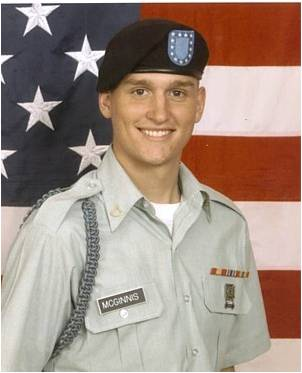 private first class ross a mcginnis military portrait
