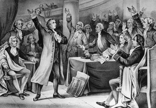 patrick henry give me liberty or give me death speech