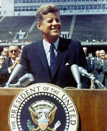 john f kennedy moon announcement speech 1961