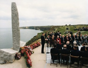 ronald reagan 40th anniversary of d-day speech 1984