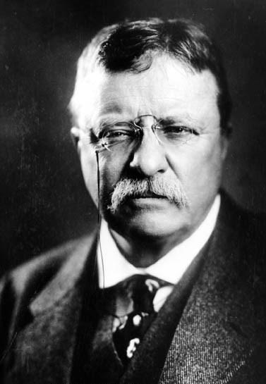 theodore roosvelt portrait with eyeglasses