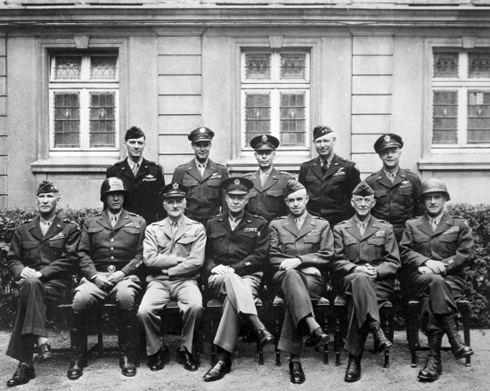 group of wwii generals portrait 1940s