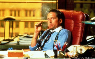 gordon gekko wall street movie 1987 michael douglas