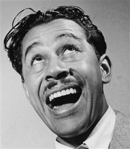 cab calloway head shot goofy face african-american singer