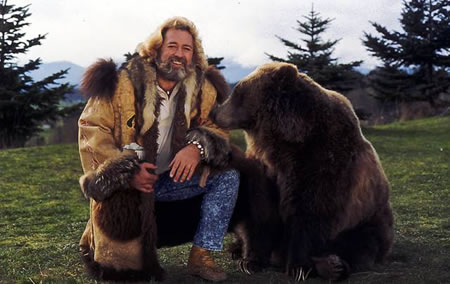 grizzly adams with bear beard best facial hair