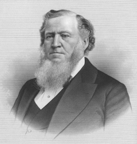 brigham young illustration drawing beard famous facial hair