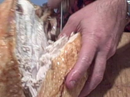 how to carve a turkey breast meat instructions