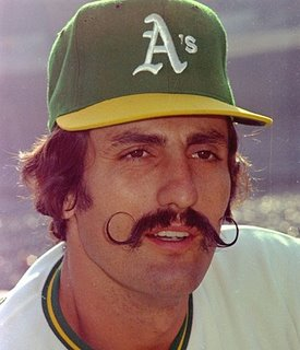 rollie fingers oakland a's mustache best facial hair