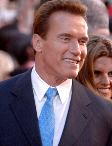 arnold schwarzenegger governor california self made men