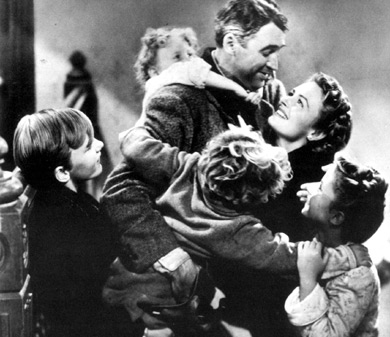 its' a wonderful life movie family happy at end