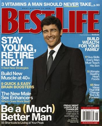 best life magazine cover kyle chandler fnl