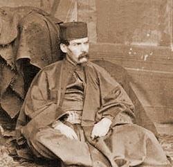 Richard Francis wearing burton portrait.
