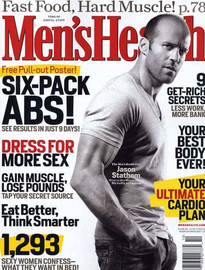 men's health magazine cover jason statham