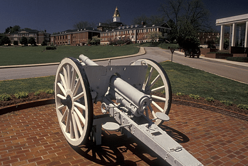 North Georgia College and State University cannon