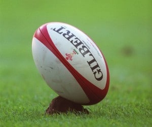 gilbert rugby ball no laces oval shape