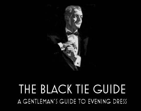 black tie guide gentleman's evening dress website
