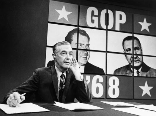 howard k smith politics anchorman desk gop 1968