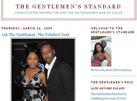 gentleman's standard website african american men's fashion style