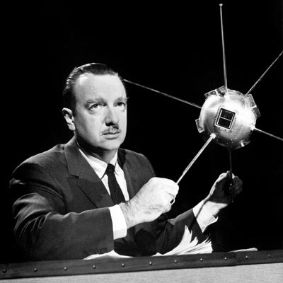 walter cronkite most trusted man america news desk