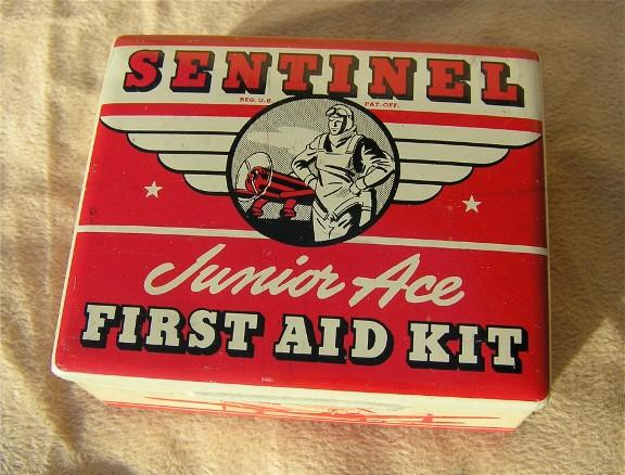sentinel junior ace vintage first aid kit