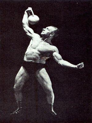 sig klein vintage kettlebell workout age 57