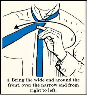 half windsor necktie knot how to tie
