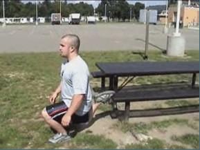 bulgarian split squat bodyweight workout exercise routine