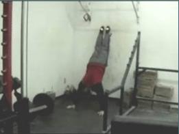 wall walkout bodyweight fitness routine standing push up