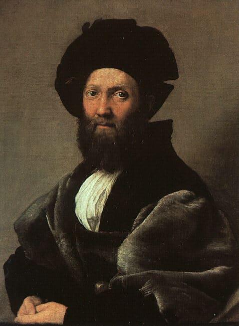 Baldassare Castiglione painting portrait sprezzatura