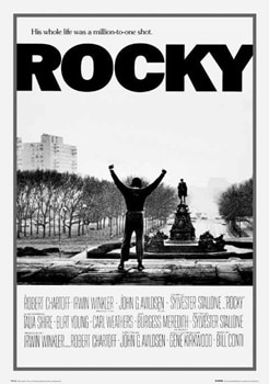 rocky movie poster best boxing films