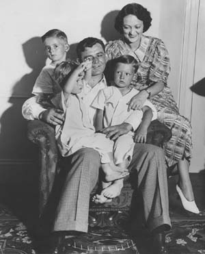 james j braddock with wife and children family