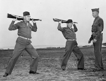 james braddock joe gould boxer training in army