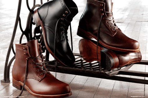 wolverine 1000 mile boot collection