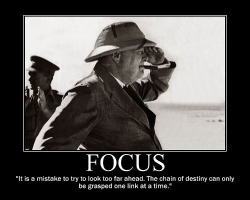 winston churchill future destiny quote motivational poster