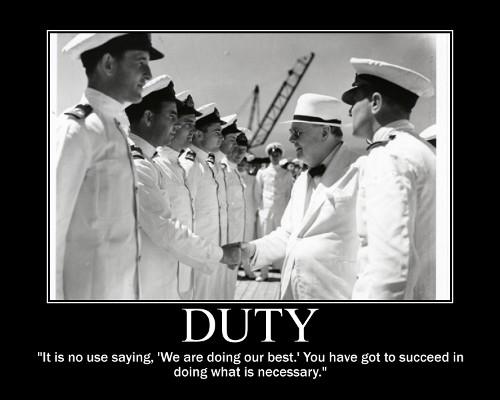 winston churchill duty necessary quote motivational poster