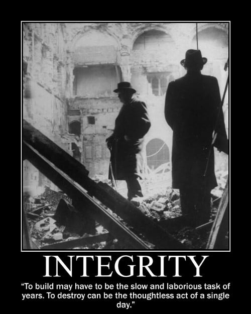 winston churchill build laborious task quote motivational poster