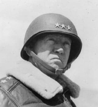 general george s patton leather jacket helmet stern