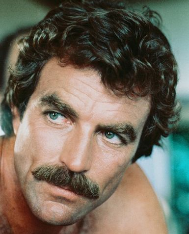 tom selleck magnum pi mustache famous facial hair