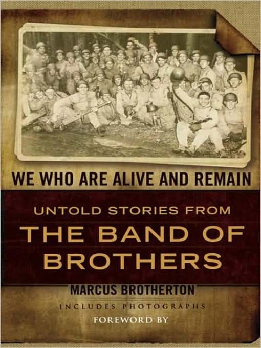 """Book cover of """"We Who are Alive and Remain"""" by Marcus Brotherton."""