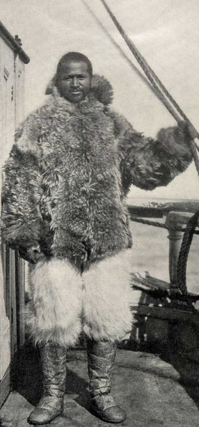 matthew henson explorer north pole fur coat pants