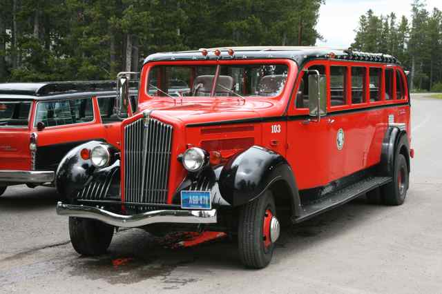 red bus jammer tours glacier national park