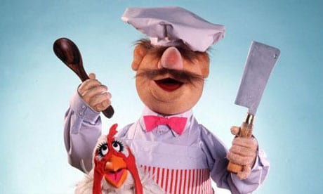 swedish chef muppet character famous mustache